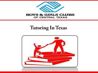 Tutoring In Texas
