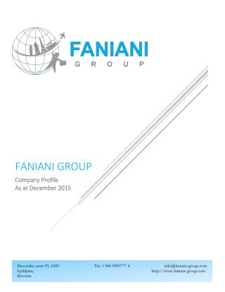 Europe DMC-Faniani Group