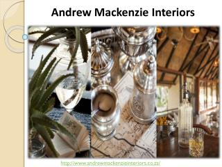 Interior Decorating Ideas - Andrew Mackenzie