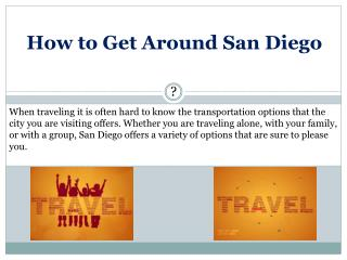 How to Get Around San Diego