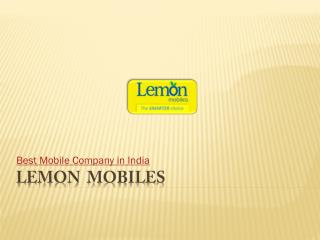 Topmost mobile company in India