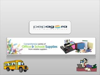 Find high Quality Office-School Materials Online in India on Pepagora.com Exclusively