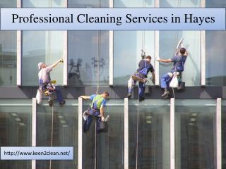 Professional Cleaning Services in Hayes
