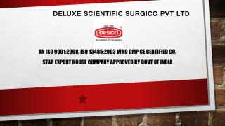 Hospital Plastic Trays Manufacturer in India | DESCO