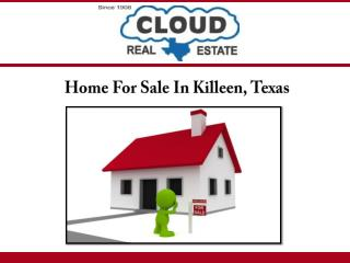 Home For Sale In Killeen, Texas