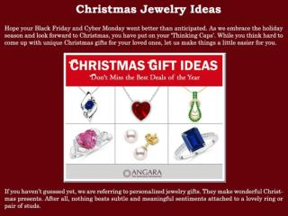 Christmas Jewelry Ideas