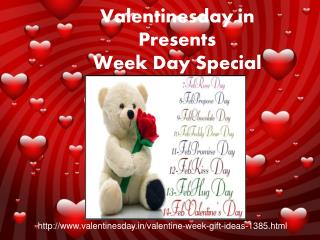 Valentine Week Day Special gift ideas