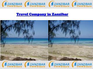 Travel Company in Zanzibar
