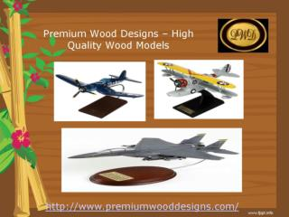 High Quality Mahogany models, Wooden Plane Models Gifts