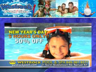Westrock Pools New Year Special Offers