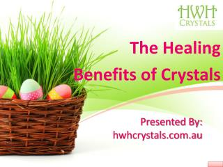 Crystals Benefit for Healing