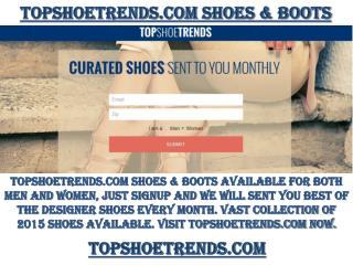 Topshoetrends.com Designer Shoes