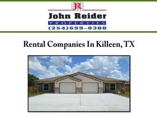 Rental Companies In Killeen, TX