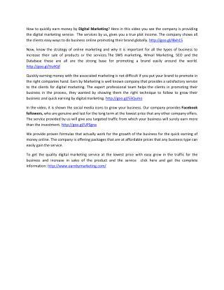 E-mail Marketing Company (9899756694) at lowest price Noida India-EarnbyMarketing.COM