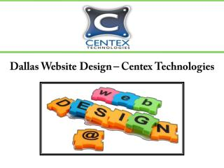 Dallas Website Design – Centex Technologies