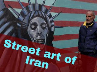 Street art of Iran