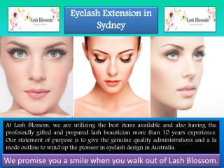 Eyelash Extensions Sydney | Silk, Mink Eyelash Extension