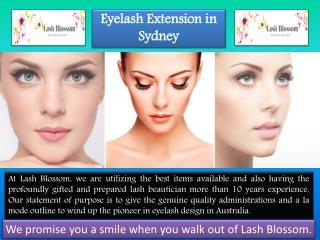 Eyelash Extensions Sydney| Lash Blossom