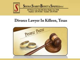 Divorce Lawyer In Killeen, Texas