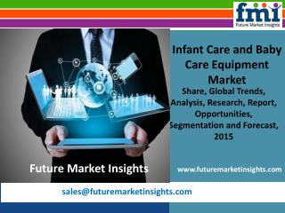 FMI: Infant Care and Baby Care Equipment Market Volume Analysis, Segments, Value Share and Key Trends 2015-2025