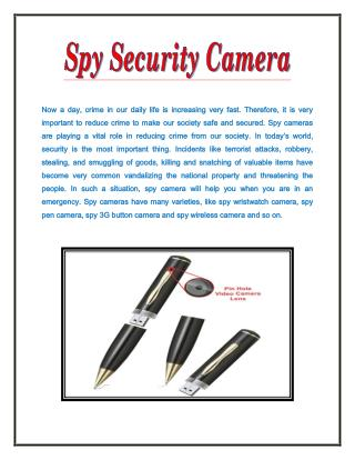 Spy Pen Camera in Delhi, 9717226478