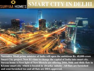 Smart city in Delhi
