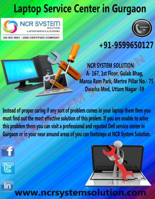 Laptop Service Center in Gurgaon