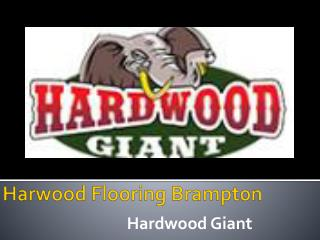 Harwood Flooring Brampton