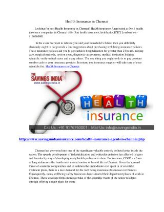 Health Insurance in Chennai
