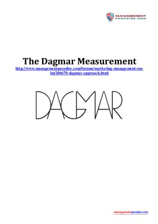 The Dagmar Measurement