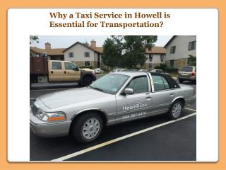 Taxi Service in Howell