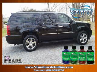 The Result of Pearl Nano Coatings in Visual Pro Detailing.