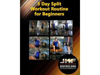3 Day Split Workout Routine for Beginners