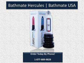 Bathmate Hercules | Bathmate USA