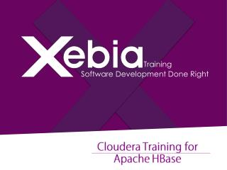 HBase Training in India - Xebia Training