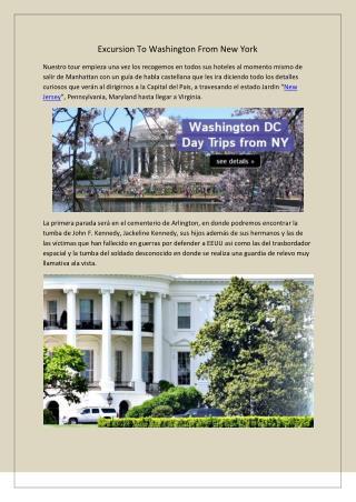 Excursión a washington desde nueva york   reals tours nyc