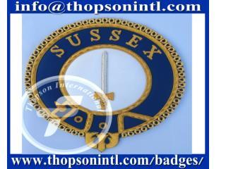 Knight Templar Mantle Badges