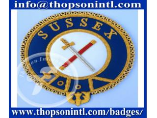 Knight Templar mantle  badges