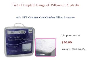 Get a Complete Range of Pillows, Towels & Blankets in Australia