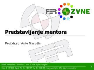 Predstavljanje mentora