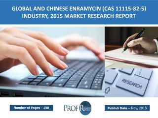 Global and Chinese Enramycin Industry  Size, Share, Growth, Analysis, Market Trends, Share, Cost, Price 2015