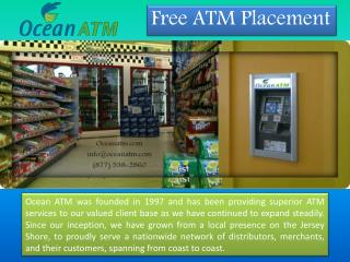 Maintenance Services|Ocean Atm