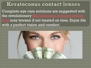 Keratoconus contact lenses, Contact lenses NYC, Astigmatism