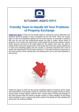 Friendly Team to Handle All Your Problems of Property Exchange