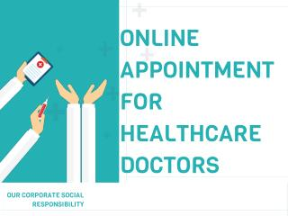 Online Appointment For Healthcare Doctors