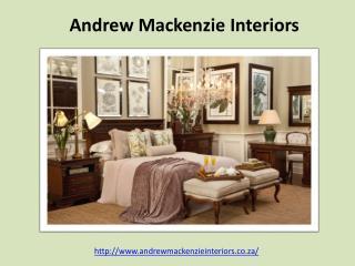 South African Interior Decorators - Andrew Mackenzie