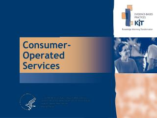 Consumer-Operated Services