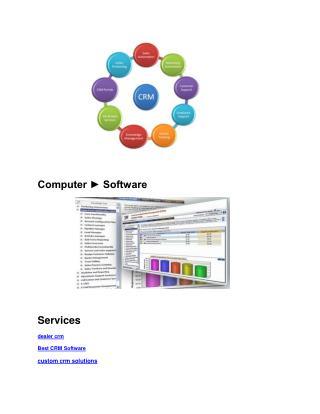 web based custom Best CRM Software solutions online lead management