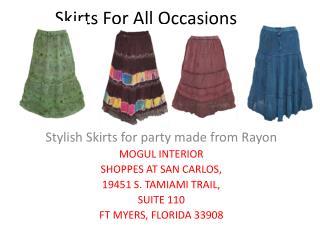 Boho Skirts