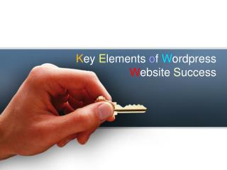 Key Elements of Wordpress Website Success